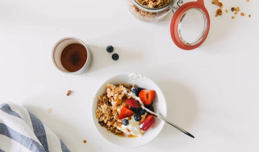 Dieta cu mic dejun.