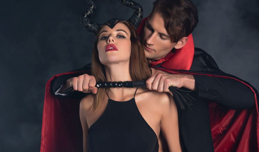 Diavolita sexy de Halloween