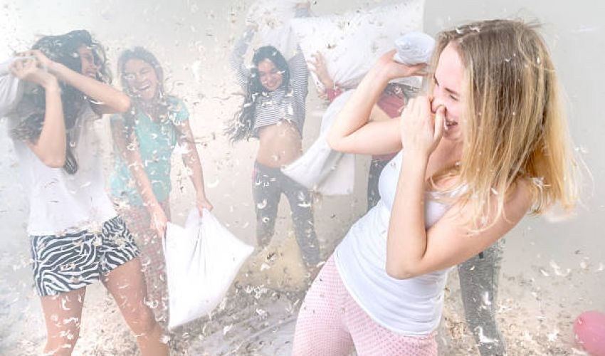 Cum sa organizezi cu succes o petrecere in pijamale