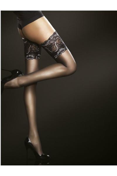 Ciorapi cu banda adeziva Fiore Sandrine 20 den