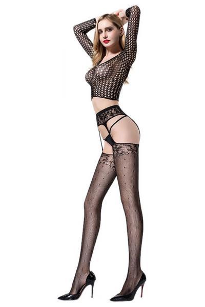Ciorapi Gorgeous Legs Negri OS
