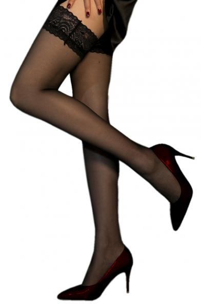 Ciorapi Subtiri Autoadezivi Negri OS