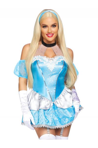 Costum 86815 Fairytale Flirt Albastru