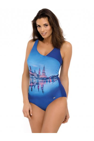 Costum de baie Daniella Spot - Blu Cina Albastru