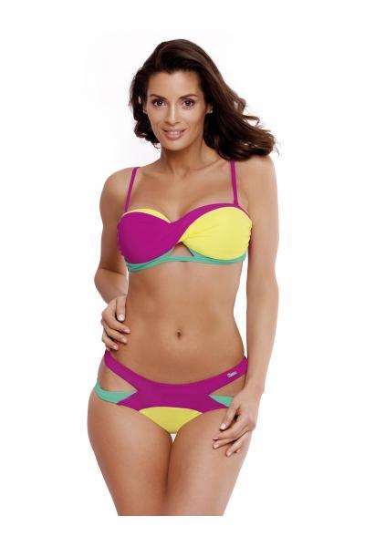 Costum de baie Selena Very Fuchsia - Gialino - Maladive Mov