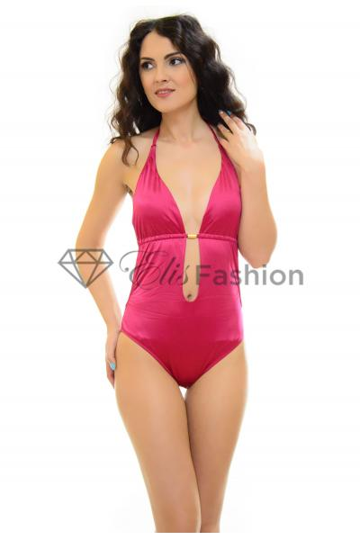 Costum de Baie Smooth Line Magenta