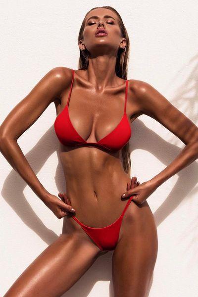 Costum de baie Summer Sun - Red