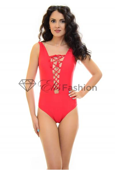 Costum de Baie Winner Bet Red