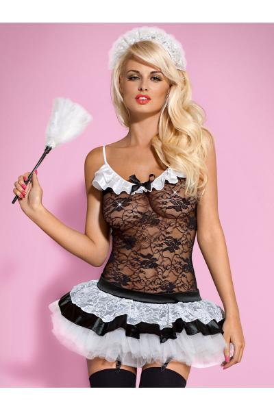 Costum Housemaid Negru
