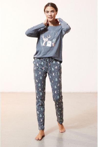 Etam - Set de pijamale din 3 piese ODEON
