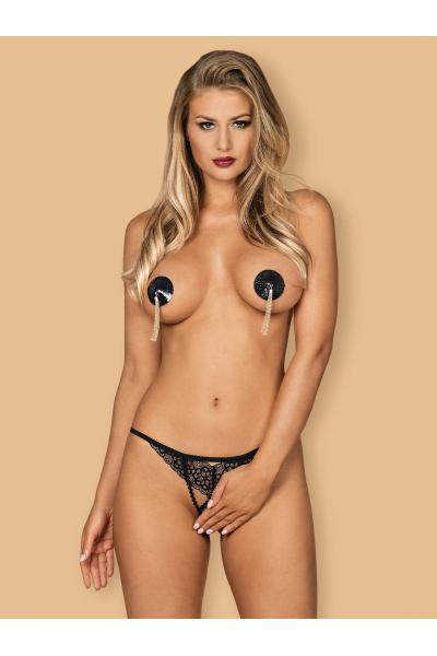 Liferia nipple covers Negru