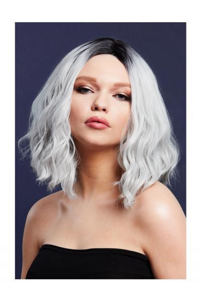 Peruca Cara Blond Argintiu