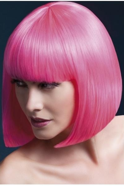 Peruca Elise roz neon