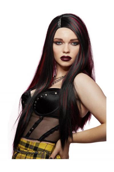 Peruca Manic Panic Vampires Kiss Super Vixen Bruneta