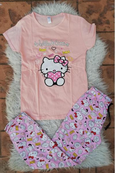 Pijama dama Bombon Hello Kitty Roz