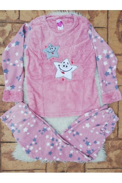 Pijama dama model Crazy Stars