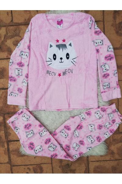 Pijama dama model Mecv Meow Roz