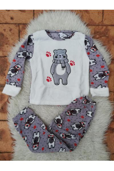 Pijama de Copil model Bear's Imprint