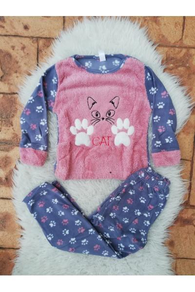 Pijama de Copil model Cat Roz