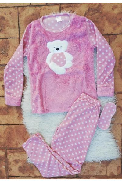 Pijama de dama model Bear Hug Roz