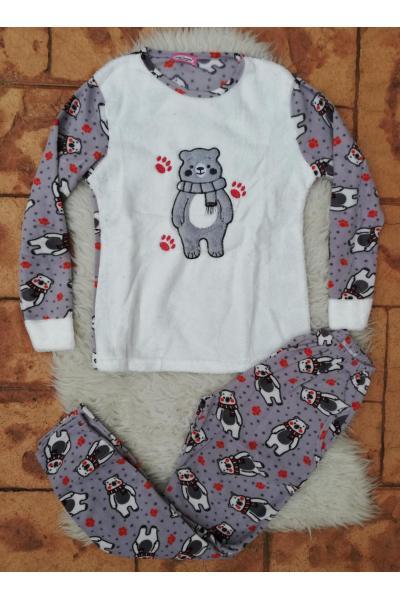 Pijama de dama model Bear's Imprint
