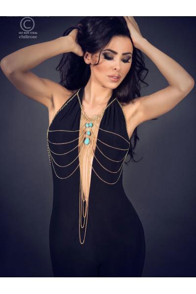 Set sexy Body Chain model 7 Auriu