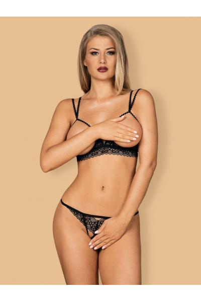 Set sexy Liferia set Negru
