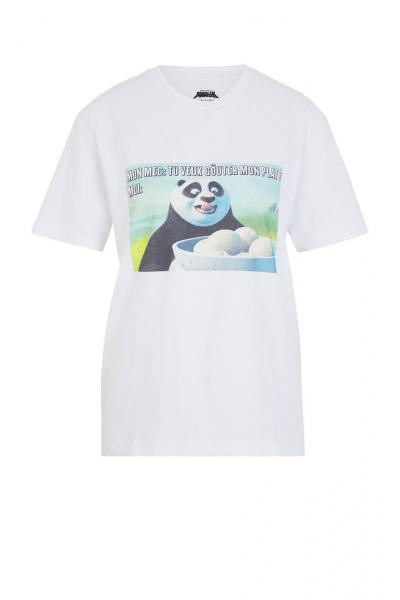 Undiz - Tricou de pijama KUNGFUPANDIZ