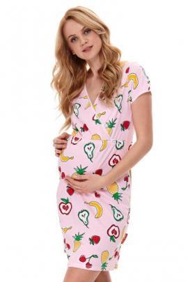 Camasa de noapte Fruits, sarcina si alaptare
