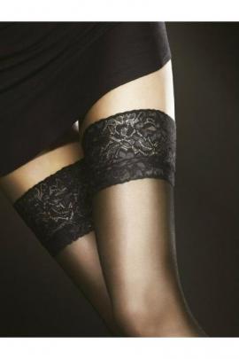 Ciorapi marimi mari (XL/XXL) cu banda adeziva Fiore Milena 20 den