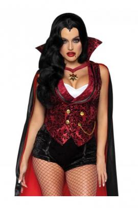 Costum Bloodthirsty Vamp Negru