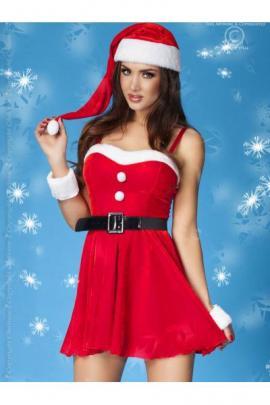 Costum Christmas dress Rosu