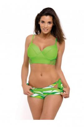 Costum de baie Angelina Granny - Acetosela Verde
