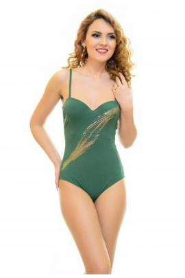 Costum De Baie Full Test Green
