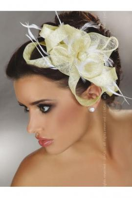 Palarie Mini Top Hat Model 29 Ivory