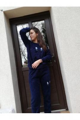 Pijama cocolino dama kiki Bleumarin