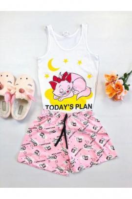 https://www.just4girls.ro/pijama-dama-bumbac-primavara-vara-cu-pantaloni-scurti-roz-si-maieu-alb-cu-imprimeu-todays-plan-98215.html