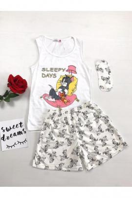 https://www.just4girls.ro/pijama-dama-ieftina-bumbac-scurta-cu-maieu-alb-si-pantaloni-scurti-albi-cu-imprimeu-tj-26007.html