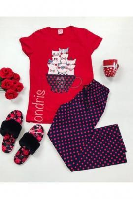 https://www.just4girls.ro/pijama-dama-ieftina-primavara-vara-cu-tricou-rosu-si-pantaloni-lungi-bleumarin-cu-imprimeu-pisicute-mug-22908.html