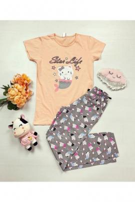 https://www.just4girls.ro/pijama-dama-ieftina-primavara-vara-cu-tricou-roz-si-pantaloni-gri-cu-imprimeu-star-life-97462.html