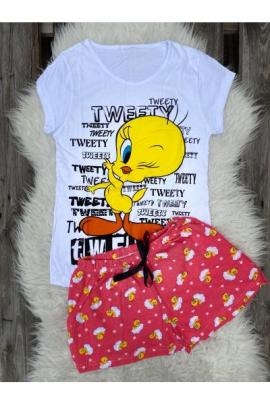 Pijama scurta Tweety Love