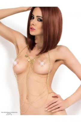 Set sexy Body Chain model 6 Auriu