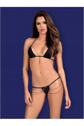 Set sexy Rebella 2-pcs Negru