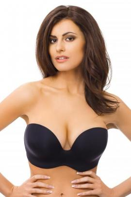 Sutien Wonderbra Ultimate Strapless bardot, efect Push-Up, fara balene